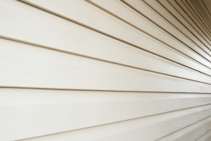 white home with types of siding