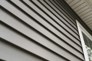 close up of different types of siding