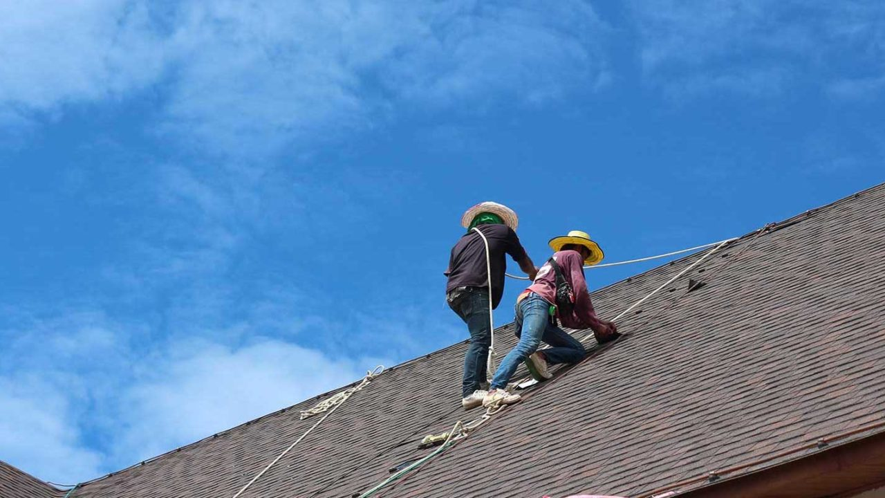 Northern VA roofing contractors seeing if roof needs a roof replacement