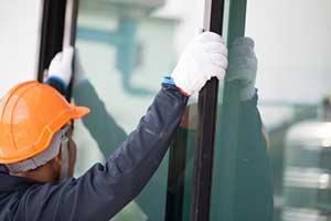 Northern Virginia window contractor installing aluminum windows