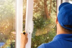 Windows Installation by Worker in Blue