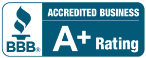 Adelphia Exteriors BBB Accredited Business with A+ rating