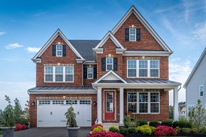 beautiful luxury american colonial traditional estate model home with great siding options