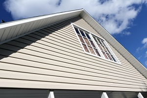 house exterior with new siding installation