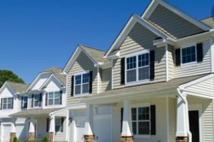 residential homes with vinyl siding