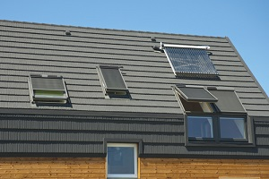 energy saving concepts in new building roof design